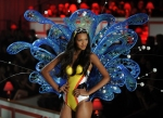 Model Lais Ribero walks on stage during