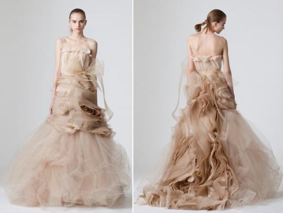 strapless wedding dresses vera wang. vera wang wedding dresses 2010